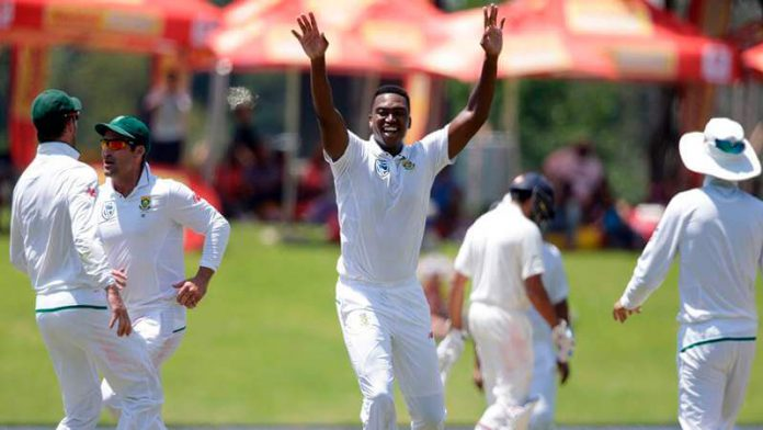 Lungi Ngidi: Playing with Dhoni, a dream come true for any young cricketer