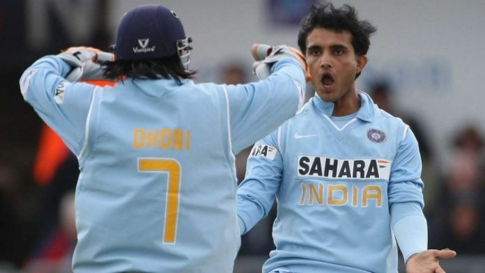 Sourav Ganguly wishes MS Dhoni was in his 2003 World Cup team