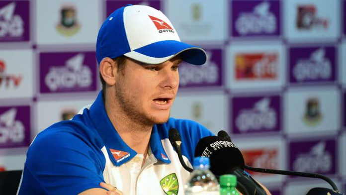 Steve Smith was bowled an LBW by South Africa bowler Keshav Maharaj in the first Test between South Africa and Australia, but the DRS review overturned the decision and caused much uproar.