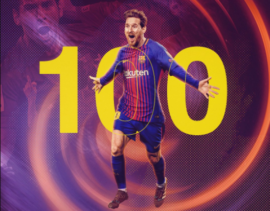 Messi scored a couple goals in Barcelona's 2017/18 UEFA champions league Round of 16 second leg against Chelsea at Camp Nou on Wednesday (15 March). In achieving the illustrious feat, Messi joined Cristiano Ronaldo, as the only two players to score 100 Champions League goals.