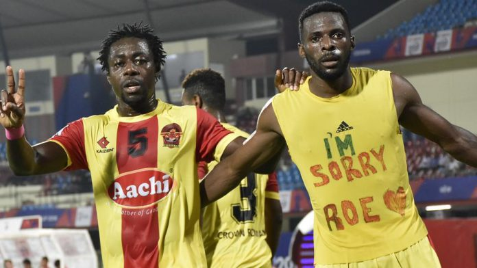 I-League teams Gokulam Kerala FC and Churchill Brothers defeated Northeast United FC and Delhi Dynamos, respectively, on 16 March in the Hero Super Cup 2018 qualifiers. Star of the night was Henry Kisekka, who scored a brace to take Gokulam past NEUFC 2-0.