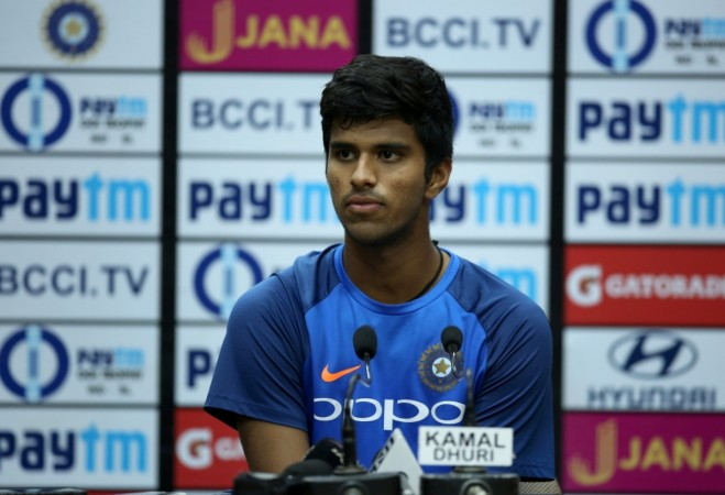Washington Sundar age, Washington Sundar IPL 2018, Washington Sundar IPL team 2018, Washington Sundar ODI debut; complete Washington Sundar wiki
