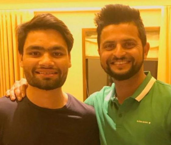 New KKR signing Rinku Singh admits Suresh Raina is his idol and Suresh Raina IPL 2018 congratulated Rinku Singh IPL 2018 after signing for KKR in IPL 2018