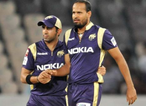 Yusuf Pathan IPL 2018 campaign will be with Sunrisers Hyderabad and thanked Gautam Gambhir IPL 2018 for his support at KKR