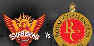 IPL 2018 SRH vs RCB stats and detailed IPL 2018 SRH vs RCB statistical preview along with IPL SRH vs RCB Head to Head record and an analysis of RCB vs SRH Head to Head numbers IPL 2018 SRH vs RCB head to head on Monday (May 7). Get SRH vs RCB Head to Head record, including an analysis of RCB vs SRH Head to Head numbers. Also, IPL SRH vs RCB stats and a detailed IPL 2018 RCB vs SRH statistical preview, IPL SRH vs RCB Head to Head has been sketched out.