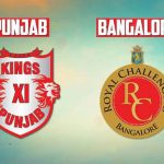 IPL Prediction; IPL 2018 KXIP vs RCB Match Prediction including the complete KXIP Squad 2018, RCB Squad 2018, KXIP vs RCB prediction and Who will win today's IPL match?