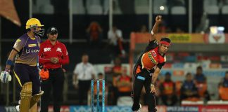 SRH vs KKR live match score from today's cricket live score in IPL. To get the fastest updated on SRH vs KKR live cricket score follow live.rooter.io
