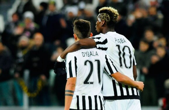 Paulo Dybala wants Paul Pogba back at Juventus according Juventus News and Manchester United news