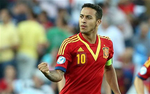 Thiago Alcantara has asked Bayern Munich to let him join Barcelona