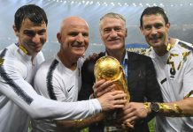 Deschamps spoke for the first time since winning the World Cup title