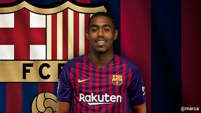 FC Barcelona Latest Transfer News, FC Barcelona Transfer News Live, Barca Transfer News, Latest FC Barcelona Transfer Rumours, Malcom Barcelona News, Malcom Roma News, Malcom Transfer News