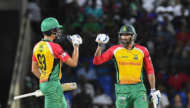 Tanvir and Green take the Warriors home