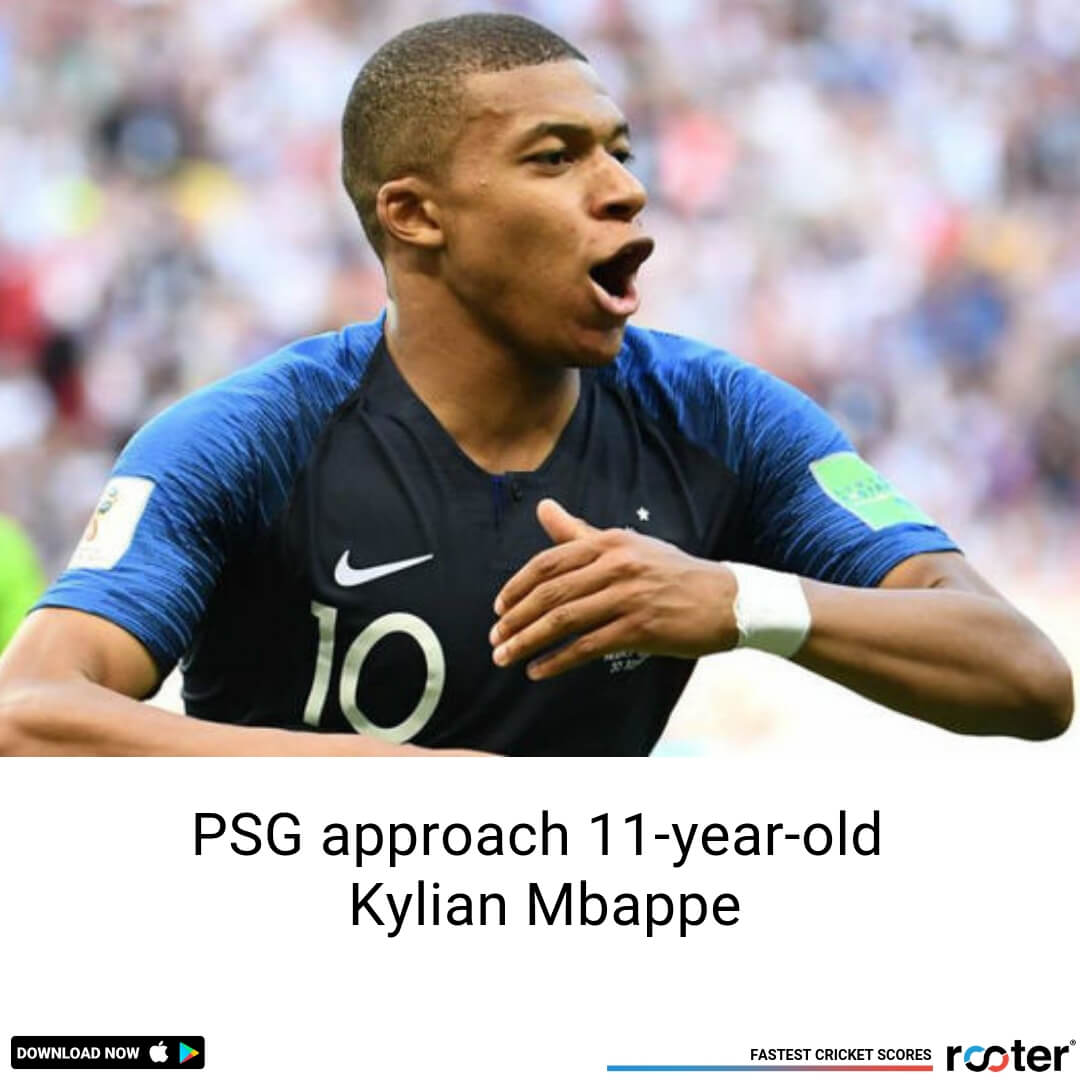 PSG set to sign 11-year-old footballer named Kylian Mbappe