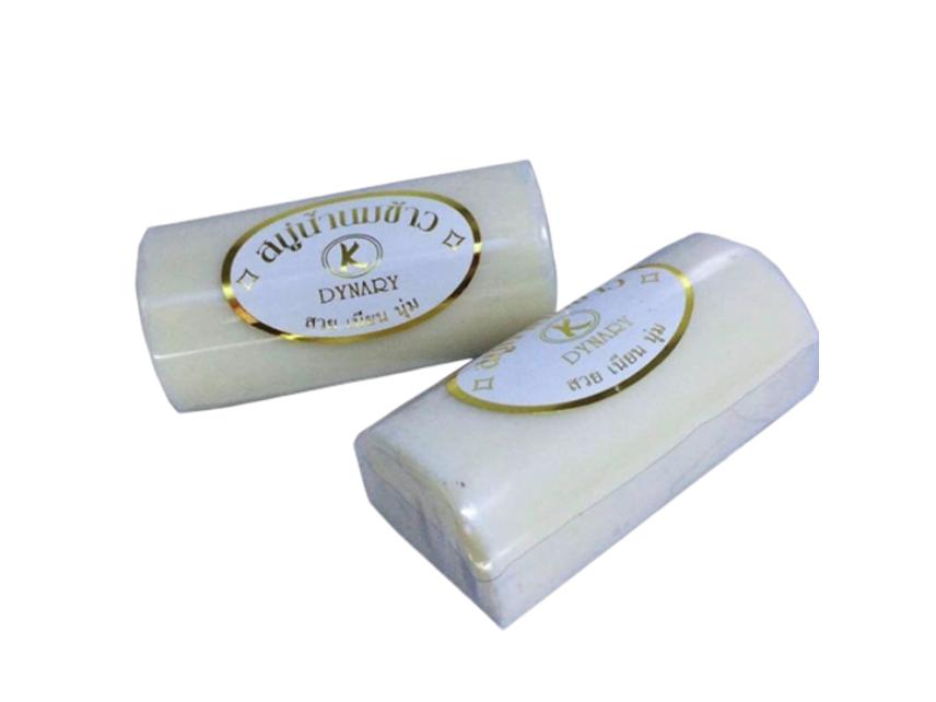 Xà phòng dưỡng da K Dynady Rice Milk Soap ảnh 1