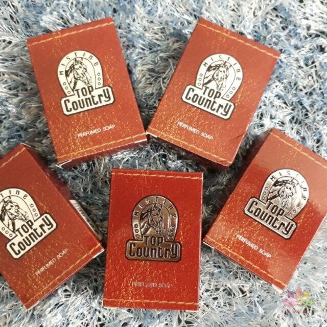 Xà phòng hương nước hoa cho Nam Mistine Top Country Perfumed Soap