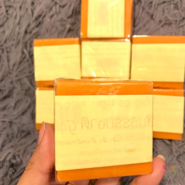Xà phòng Cam nghệ Orange Natural Soap ảnh 2