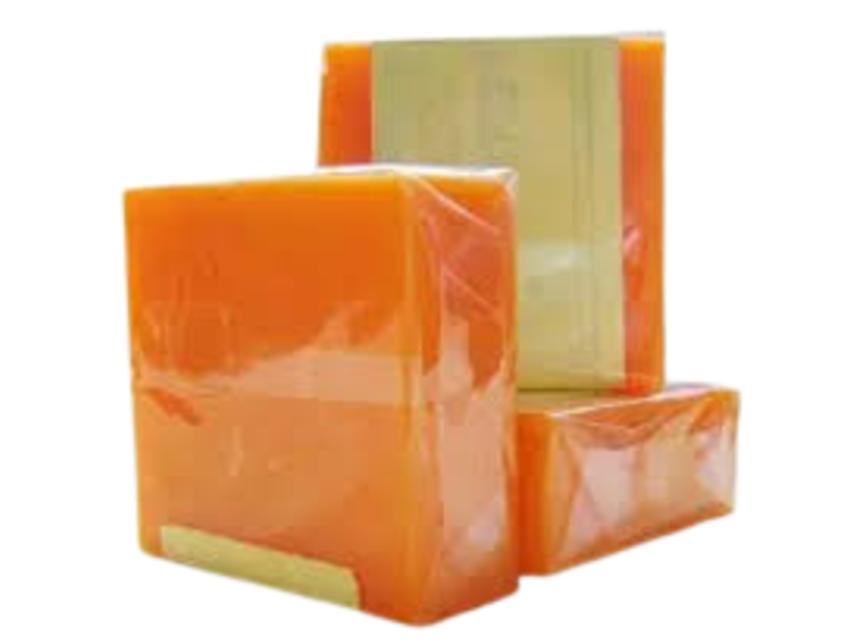 Xà phòng Cam nghệ Orange Natural Soap ảnh 1