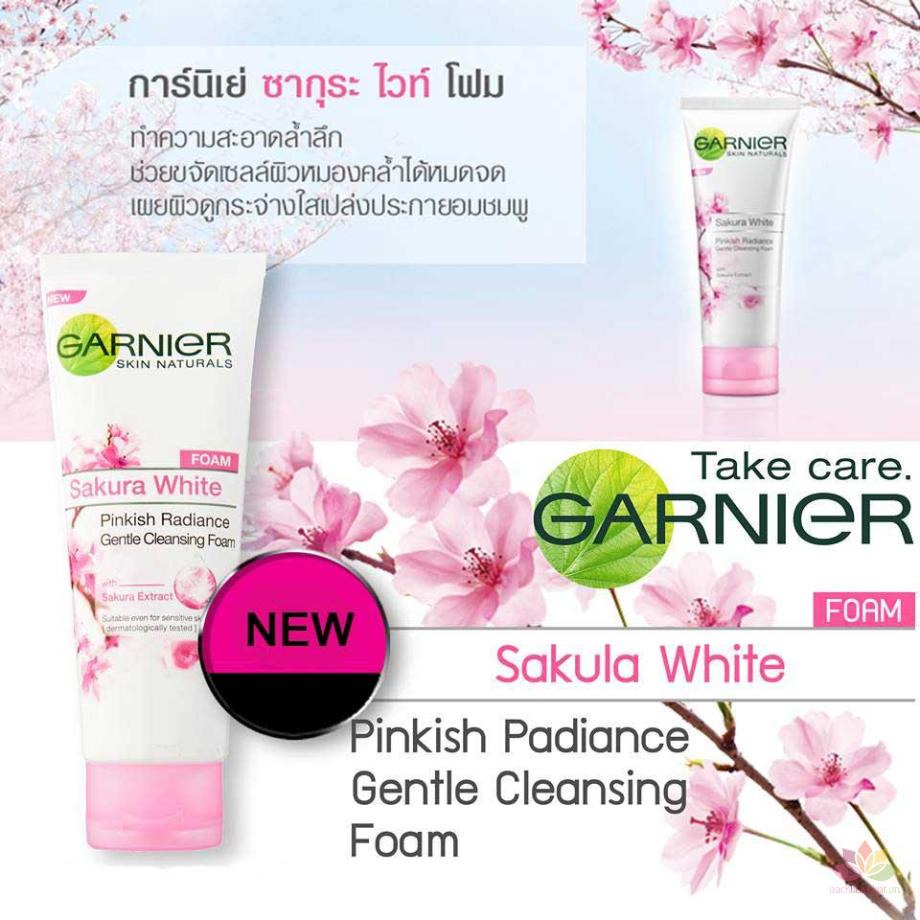 Sữa rửa mặt Sakura White Pinkish Foam
