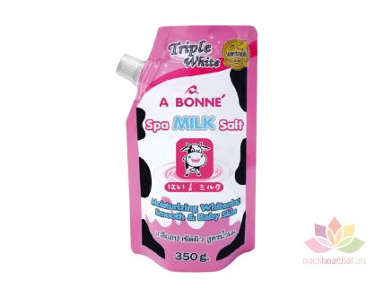 Muối tắm tẩy tế bào chết A Bonne Spa Milk Salt ảnh 1