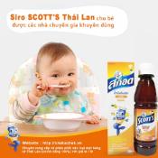 Ảnh sản phẩm Siro SCOTT'S Emuls Vita Thái Lan Giúp Bé Ăn Ngon Và Mau Tăng Cân 2