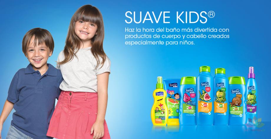 Tắm gội Suave Kids 3 in 1 hương trái cây