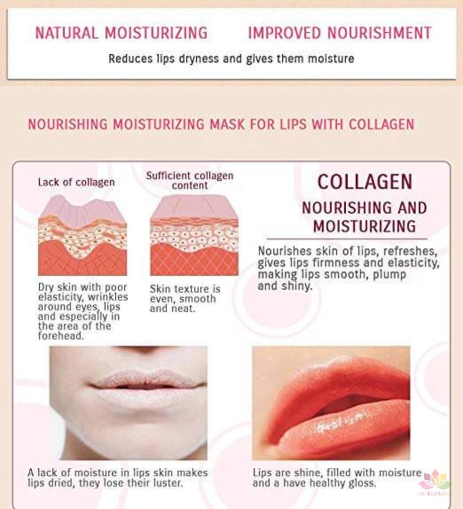 Mặt nạ môi Collagen Bioaqua