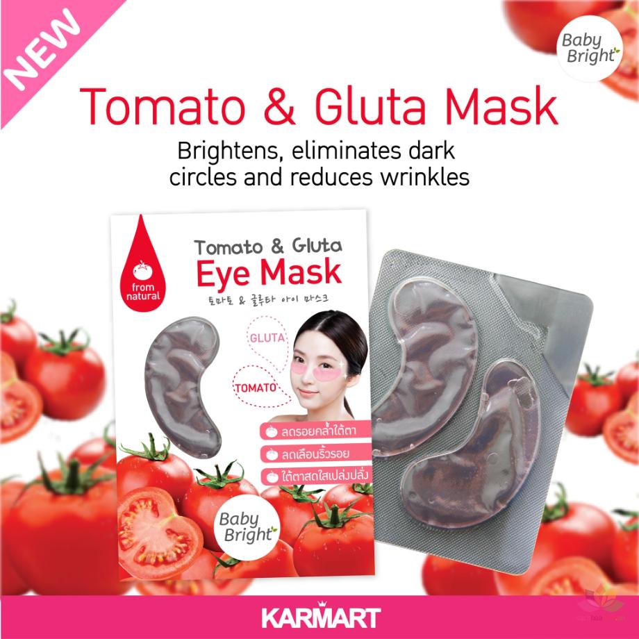 Mặt nạ mắt Baby Tomato & Gluta Eye Mask