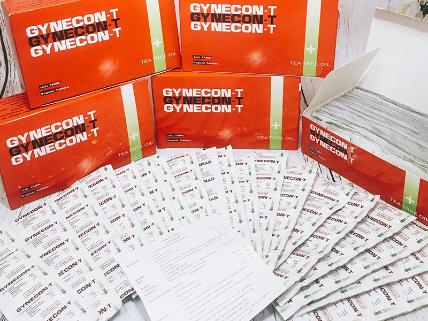 Viên đặt phụ khoa Gynecon trà xanh Thái Lan ảnh 1