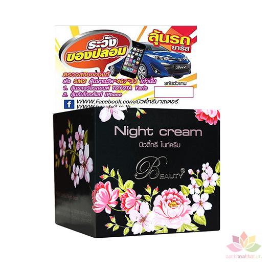 Kem dưỡng trắng ban đêm Beauty 3 Night Cream
