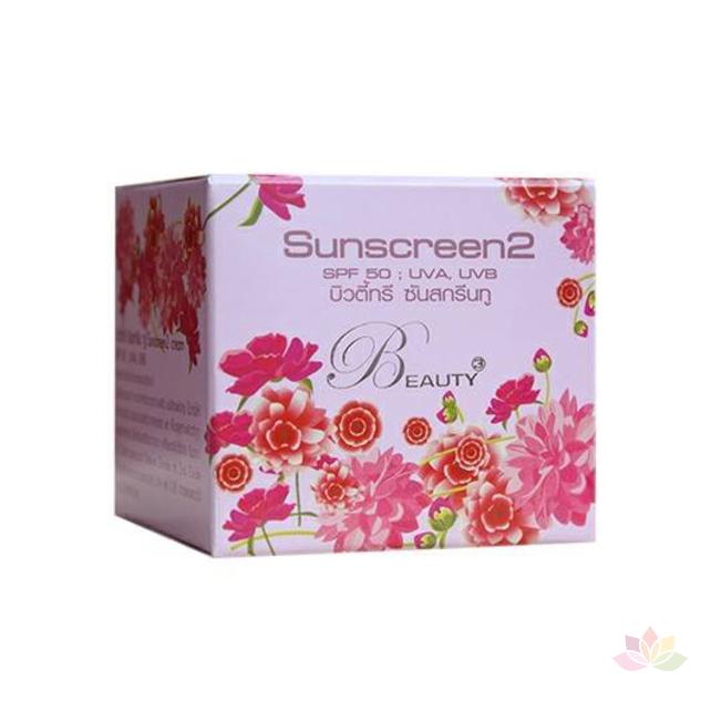Kem dưỡng làm trắng chống nắng Beauty 3 Sunscreen2 ảnh 5