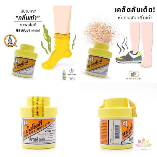 Phấn khử mùi hôi chân Thái Lan Yoki Powder