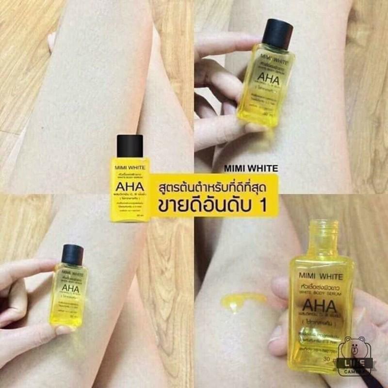 Serum Huyết Thanh AHA Kích Trắng Toàn Thân Thái Lan 30ml