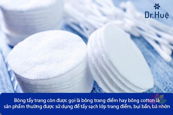 Bông tẩy trang AURA Coton Pads