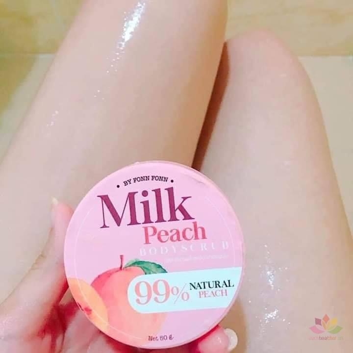 Tẩy tế bào chết Milk Peach Body Scrub