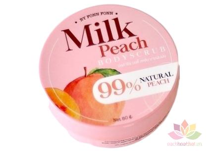 Tẩy tế bào chết Milk Peach Body Scrub ảnh 1