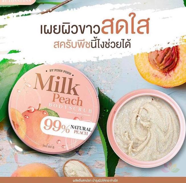 Tẩy tế bào chết Milk Peach Body Scrub ảnh 3