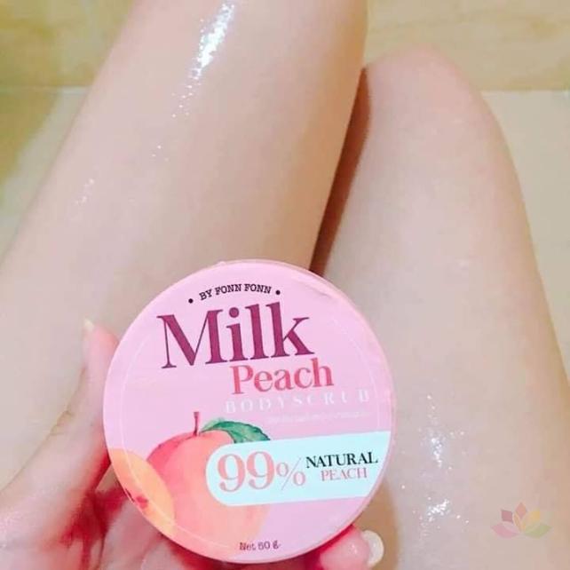 Tẩy tế bào chết Milk Peach Body Scrub ảnh 9