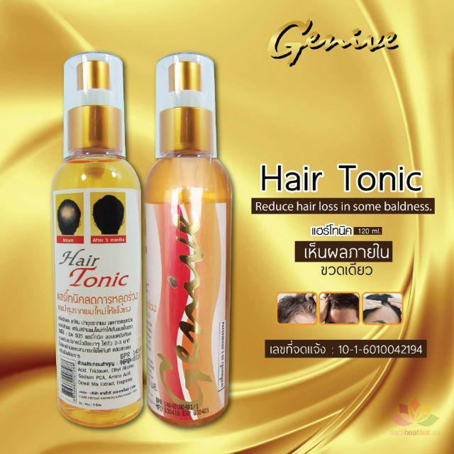 Chai xit kích mọc tóc Genive Hair Tonic