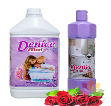 Nước Giặt xả quần áo trẻ em Denice 6in1 ảnh 4