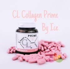 Viên uống trị mụn trắng da CL Collagen Prime Thái Lan
