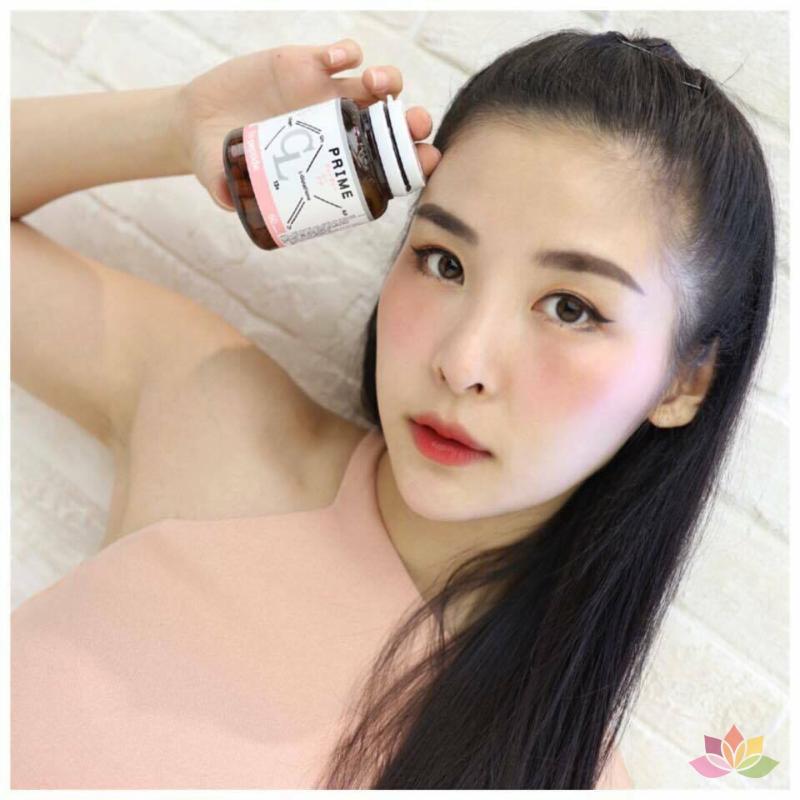 Viên uống trị mụn trắng da CL Collagen Prime Plus Thái Lan ảnh 4