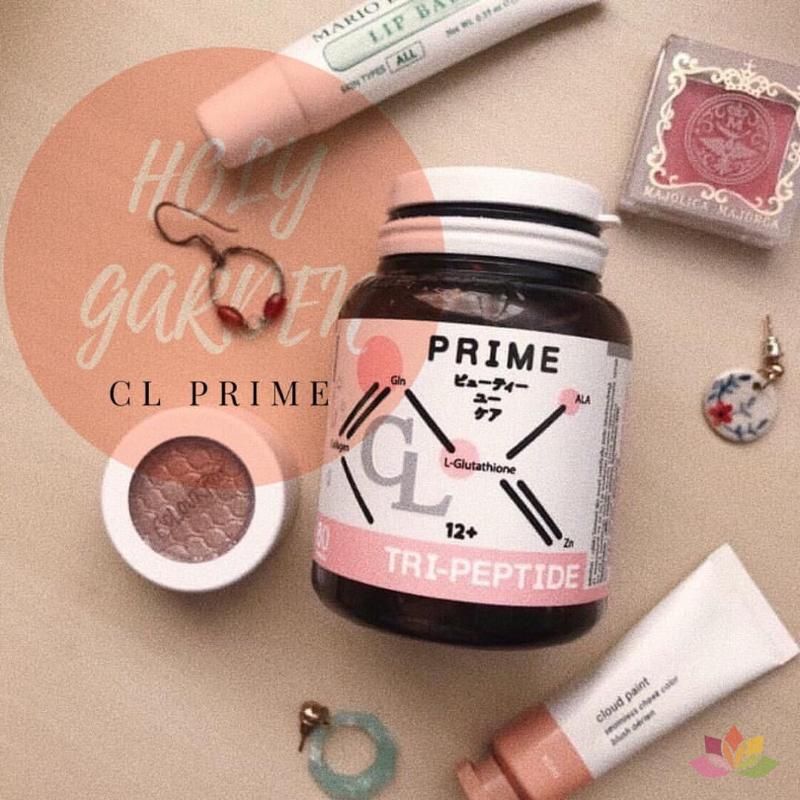 Viên uống trị mụn trắng da CL Collagen Prime Plus Thái Lan ảnh 5