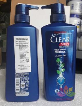 Clear Men 480ml ảnh 3