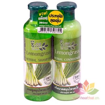 Cặp gội xả kích mọc tóc, chống rụng Lemomgrass ảnh 1