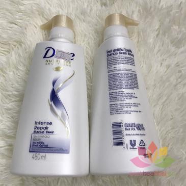 Dầu xả Dove Intense Repair phục hồi tóc ảnh 5