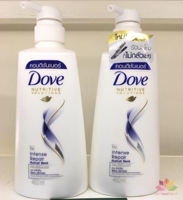 Dầu xả Dove Intense Repair phục hồi tóc ảnh 2