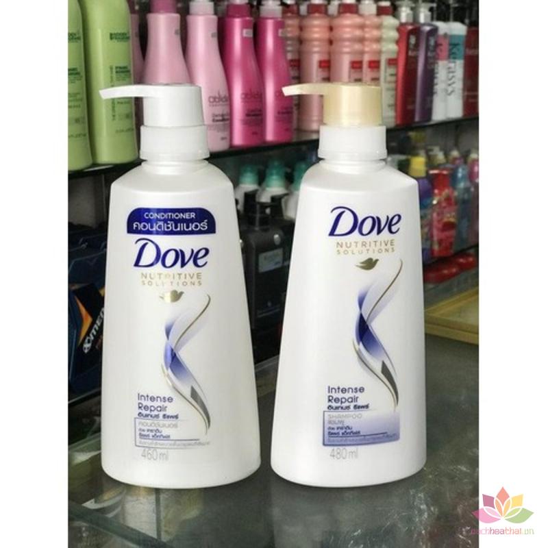 Dầu xả Dove Intense Repair phục hồi tóc ảnh 4