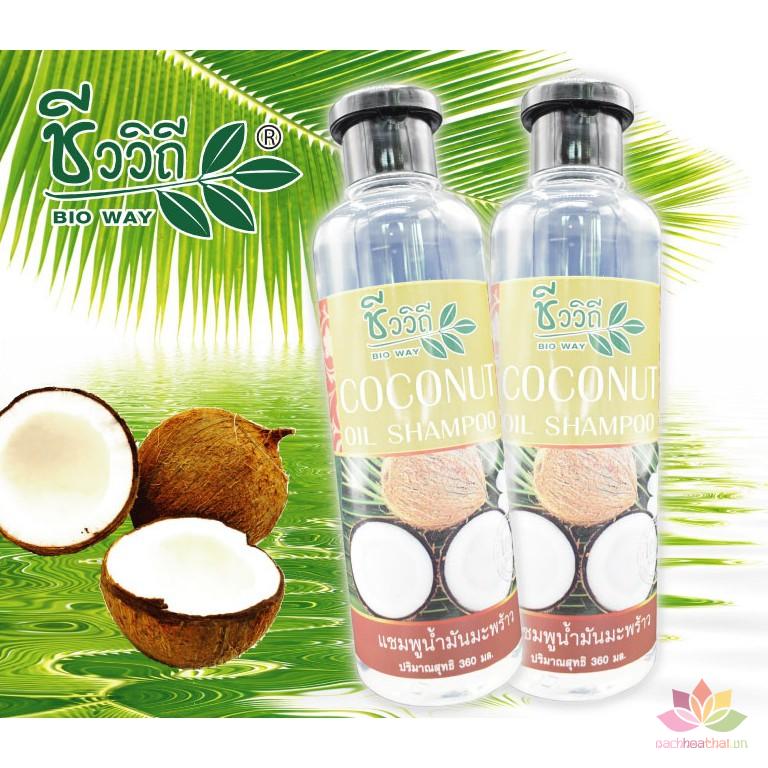 Bộ dầu gội xả Coconut kích mọc tóc