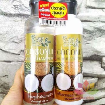 Bộ dầu gội xả Coconut kích mọc tóc ảnh 4