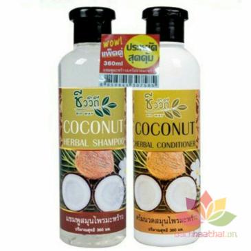 Bộ dầu gội xả Coconut kích mọc tóc ảnh 1